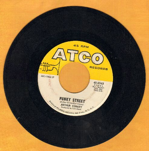 Conley, Arthur - Funky Street/Put Our Love Together - EX8/ - 45 rpm Records