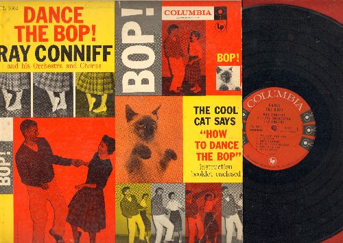 Conniff, Ray & His Orchestra & Chorus - Dance The Bop!: Walkin' The Bop, Doin' The Twister, The Flea Hop, The Spinner (Vinyl MONO LP record, red label 6 eyes 1957 first pressing!) - VG7/VG7 - LP Records