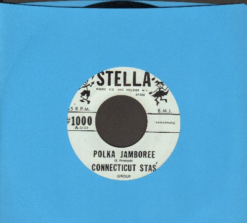 Connecticut Stars - Polka Jamboree/Dola Ma - NM9/ - 45 rpm Records