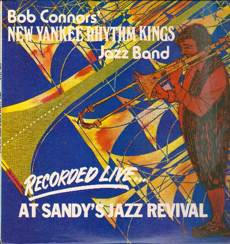 New Yankee Rhythm Kings - Bob Connor's New Yankee Rhythm Kings Jazz Band (vinyl STEREO LP record) - NM9/EX8 - LP Records