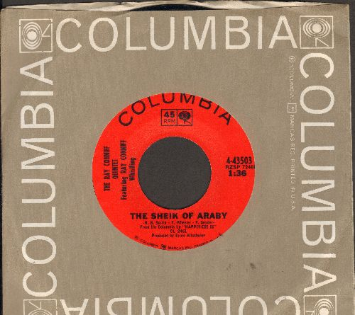 Conniff, Ray Quintett featuring Ray Conniff Whistling - The Sheik Of Araby/Jamaica Farewell (with Columbia company sleeve) - NM9/ - 45 rpm Records