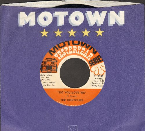 Contours - Do You Love Me/Shake, Sherrie (MINT condition re-issue with Motown company sleeve) - M10/ - 45 rpm Records