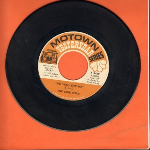 Contours - Do You Love Me/Shake, Sherrie (re-issue with juke box label) - EX8/ - 45 rpm Records