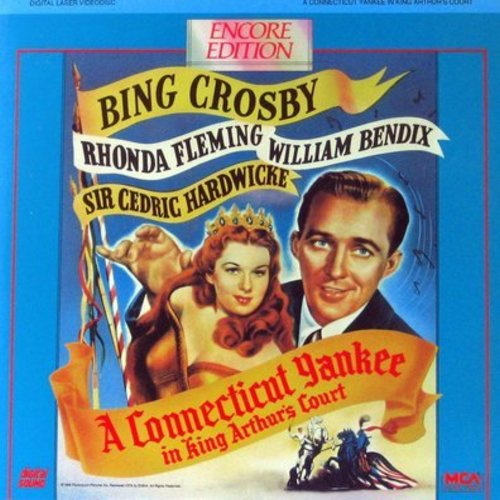 Connecticut Yankee In King Arthur's Court - A Connecticut Yankee In King Arthur's Court - LASERDISC version of the 1949 Mark Twain Classic starring Bing Crosby - LASERDISC Made in Japan (This is a LASERDISC, NOT ANY OTHER KIND OF MEDIA!) - NM9/NM9 - Laser