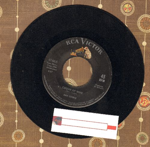 Cooke, Sam - Cousin Of Mine/That's Where It's At (with juke box label) - VG7/ - 45 rpm Records