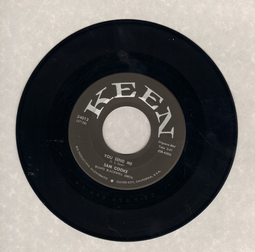 Cooke, Sam - You Send Me/Summertime (first pressing) - VG7/ - 45 rpm Records