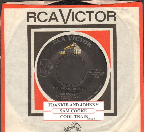 Cooke, Sam - Frankie & Johnny/Cool Train (with juke box label vintage RCA company sleeve) - EX8/ - 45 rpm Records