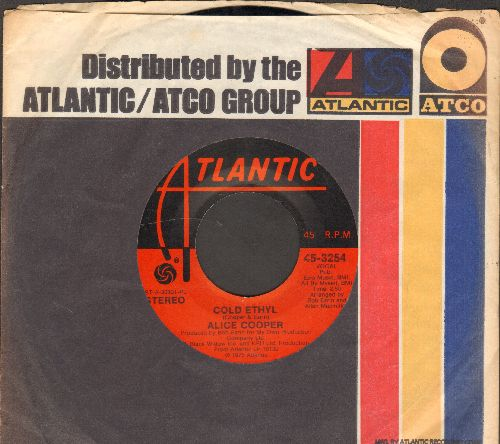 Cooper, Alice - Cold Ethyl/Only Women (with company sleeve) - NM9/ - 45 rpm Records