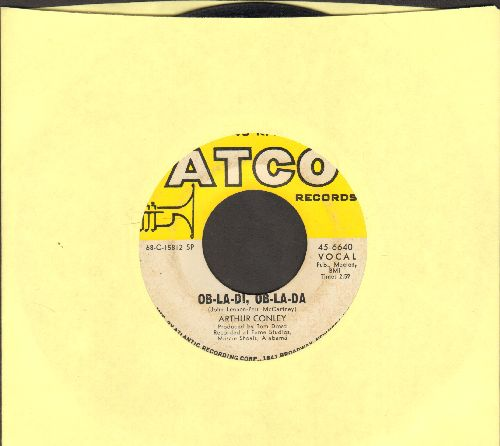 Conley, Arthur - Ob-La-Di, Ob-La-Da/Otis Sleep On  - EX8/ - 45 rpm Records