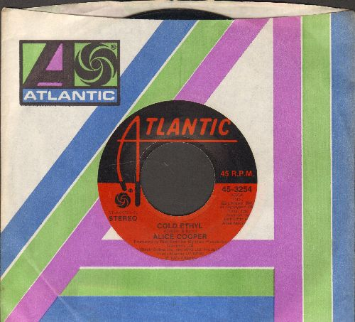 Cooper, Alice - Cold Ethyl/Only Women (with Atlantic company sleeve) - NM9/ - 45 rpm Records