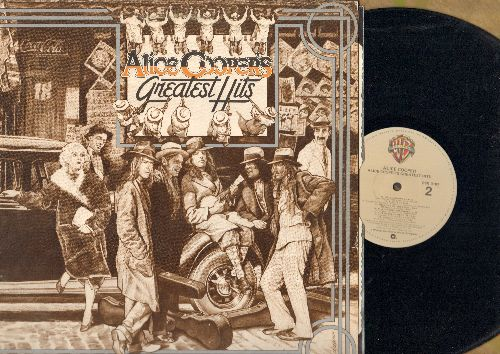 Cooper, Alice - Alice Cooper's Greatest Hits: Desperado, I'm Eighteen, School's Out, Teenage Lament '74 (vinyl STEREO LP record) - NM9/NM9 - LP Records