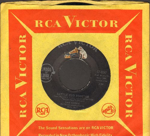 Cooke, Sam - Little Red Rooster/You Gotta Move (with vintage RCA company sleeve) - EX8/ - 45 rpm Records