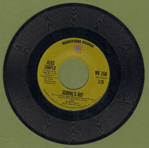 Cooper, Alice - School's Out/Gutter Cat - NM9/ - 45 rpm Records