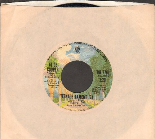 Cooper, Alice - Teenage Lament '74/Hard Hearted Alice (with company sleeve) - NM9/ - 45 rpm Records