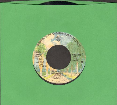 Cooper, Alice - Go To Hell/I Never Cry - NM9/ - 45 rpm Records