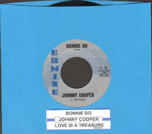 Cooper, Johnny - Bonnie Do/Love Is A Treasure (FANTASTIC teen-idol 2-sider!) - EX8/ - 45 rpm Records