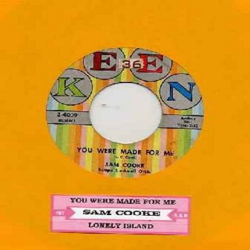 Cooke, Sam - You Were Made For Me/Lonely Island (with juke box label) - EX8/ - 45 rpm Records