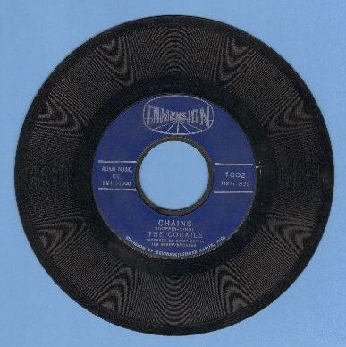 Cookies - Chains/Stranger In My Arms  - VG7/ - 45 rpm Records