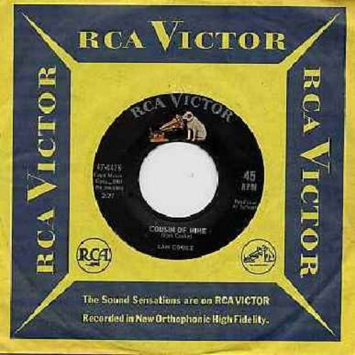 Cooke, Sam - Cousin Of Mine/That's Where It's At (with RCA company sleeve) - EX8/ - 45 rpm Records