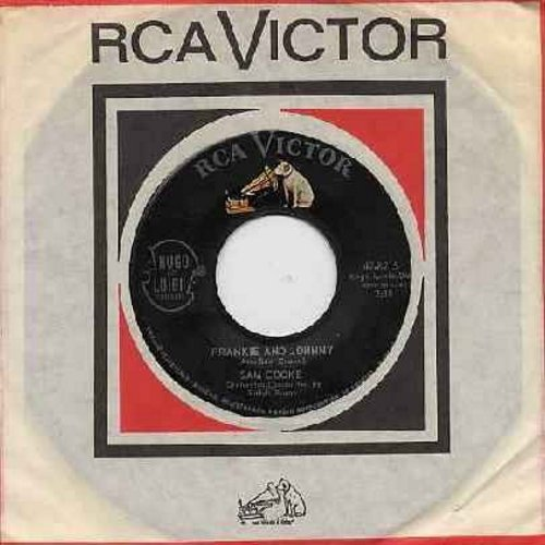 Cooke, Sam - Frankie & Johnny/Cool Train (with vintage RCA company sleeve) - NM9/ - 45 rpm Records