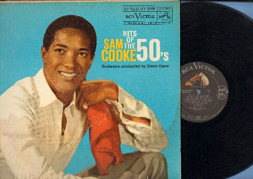 Cooke, Sam - Hits Of The 50s: Hey There, Mona Lisa, Unchained Melody, The Wayward Wind, Cry, Secret Love, Venus   (180 gram Virgin Vinyl re-issue, EU Pressing, SEALED, never opened!) - EX8/G5 - LP Records