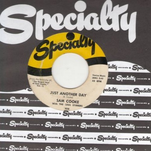 Cooke, Sam - Just Another Day/Christ Is All (with Specialty company sleeve) - VG7/ - 45 rpm Records