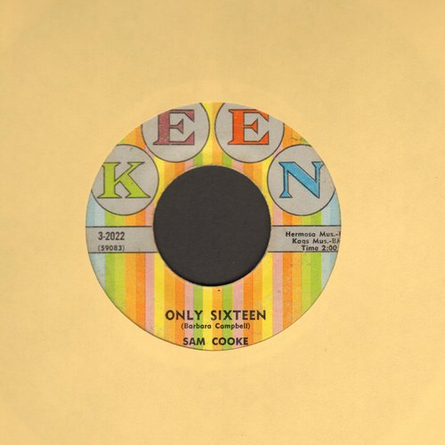 Cooke, Sam - Only Sixteen/Let's Go Steady Again - VG7/ - 45 rpm Records