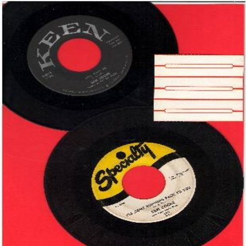 Cooke, Sam - 2 for 1 Special: You Send Me/Forever (2 vintage first issue 45rpm records for the price of 1!) - VG7/ - 45 rpm Records