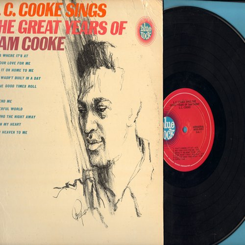 Cooke, L.C. - The Great Years Of Sam Cooke: Rome Wasn't Built In A Day, Cupid, You Send Me, Wonderful World, Twisting The Night Away (Vinyl MONO LP record) - NM9/VG7 - LP Records