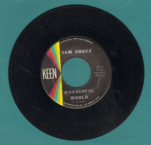 Cooke, Sam - Wonderful World/Along The Navajo Trail - EX8/ - 45 rpm Records