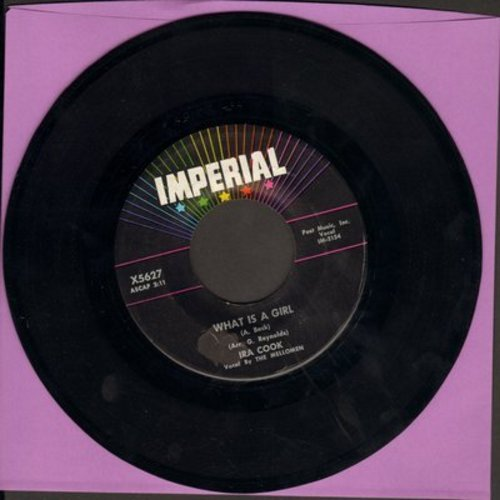 Cook, Ira - What Is A Girl/What Is A Boy (sentimental spoken-words novelty) - NM9/ - 45 rpm Records