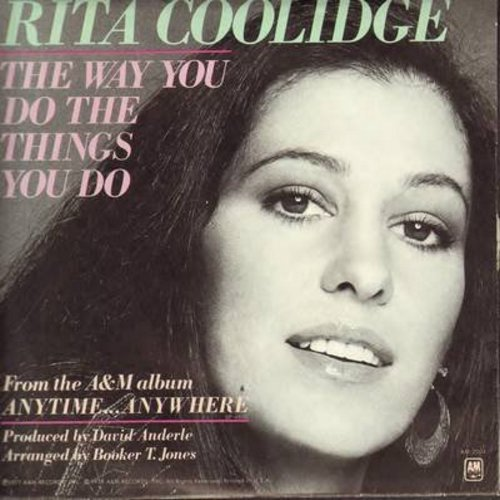 Coolidge, Rita - The Way You Do The Things You Do/I Feel The Burden (with picture sleeve) - NM9/EX8 - 45 rpm Records