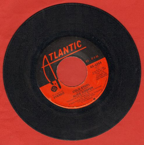 Cooper, Alice - Cold Ethyl/Only Women - VG7/ - 45 rpm Records