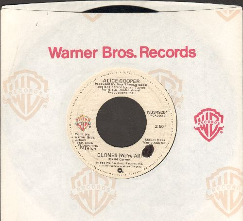 Cooper, Alice - Clones (We're All)/Model Citizen (with Warner Brother company sleeve) - NM9/ - 45 rpm Records
