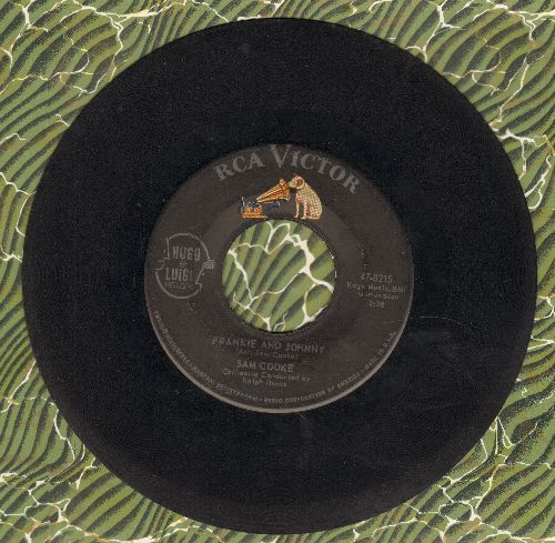 Cooke, Sam - Frankie & Johnny/Cool Train (wol) - VG7/ - 45 rpm Records