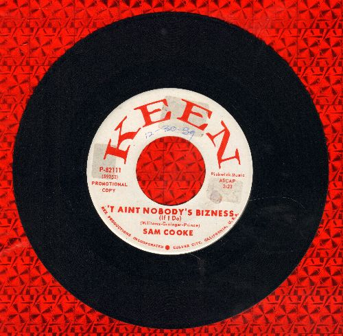 Cooke, Sam - No One (Can Ever Take Your Place)/'Taint Nobody's Bizness (If I Do) (DJ advance pressing) (minor wol) - EX8/ - 45 rpm Records