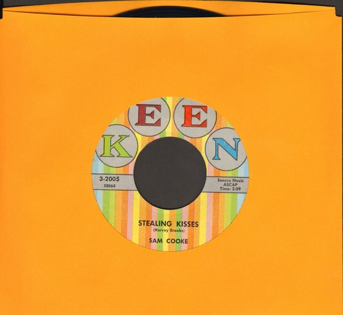 Cooke, Sam - Stealing Kisses/All Of My Life (multi-color label first issue, NICE condition!) - EX8/ - 45 rpm Records