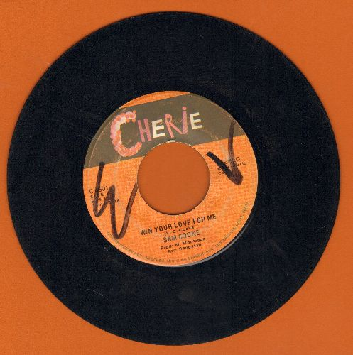 Cooke, Sam - Win Your Love For Me/Darling I Need You Now (wol) - VG7/ - 45 rpm Records