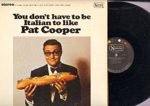 Cooper, Pat - You Don't Have To Be Italian To Like Pat Cooper (vinyl STEREO LP record) - NM9/EX8 - LP Records