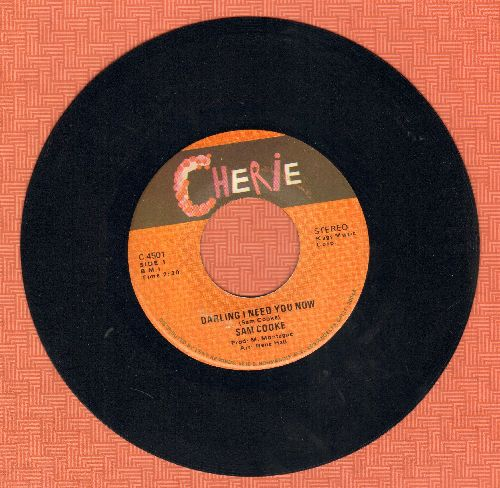 Cooke, Sam - Darling I Need You Now/Win Your Love For Me - EX8/ - 45 rpm Records