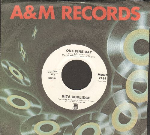 Coolidge, Rita - One Fine Day (double-A-sided DJ advance pressing with A&M company sleeve)(wol) - NM9/ - 45 rpm Records