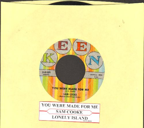 Cooke, Sam - You Were Made For Me/Lonely Island (with juke box label) - VG7/ - 45 rpm Records