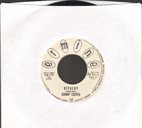 Cooper, Johnny - Rivalry/I Found Love With You (DJ advance pressing) - EX8/ - 45 rpm Records