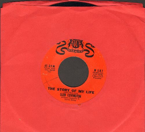 Covington, Glen - The Story Of My Life/If I Loved You - EX8/ - 45 rpm Records