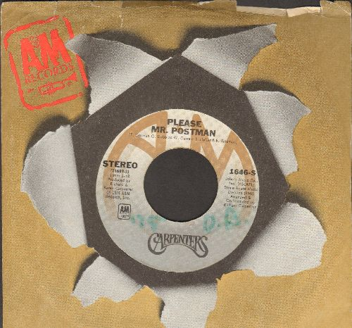 Carpenters - Please Mr. Postman/This Masquarade (with A&M company sleeve)(sol) - EX8/ - 45 rpm Records