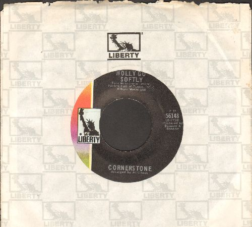 Cornerstone - Holly Go Softly/Love, Nothing More (with company sleeve) - EX8/ - 45 rpm Records