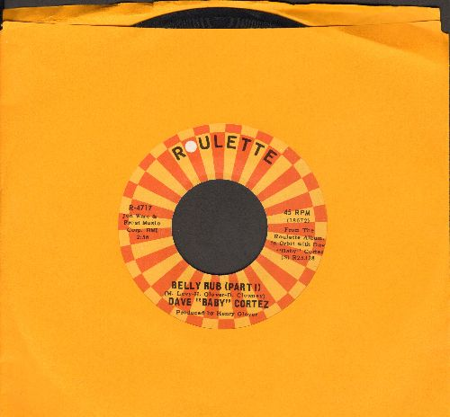 Cortez, Dave Baby - Belly Rub (Parts 1+2) - EX8/ - 45 rpm Records