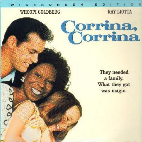 Corinna, Corinna - Corrina, Corrina - The Timeless Romantic Comedy set in the 1950s starring Whoopi Goldberg - THIS IS A LASERDISC, NOT ANY OTHER KIND OF MEDIA! - NM9/NM9 - LaserDiscs