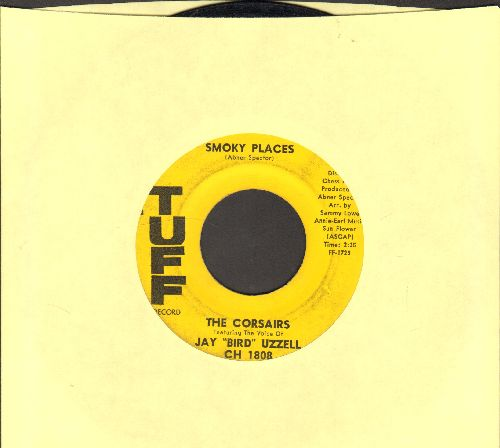 Corsairs featuring Jay Bird Uzzell - Smoky Places/Thinkin' - EX8/ - 45 rpm Records