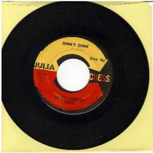 Cortez, Dave Baby - Rinky Dink/Getting Right (first issue on Julia label) - VG7/ - 45 rpm Records